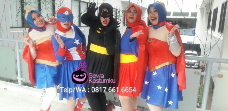 Sewa Kostum Superhero Wanita Jakarta Timur