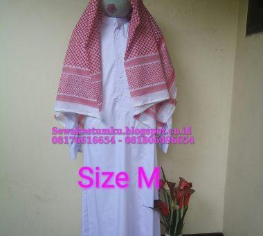 Sewa Kostum Arab Pria Ukuran M (Kode 131)