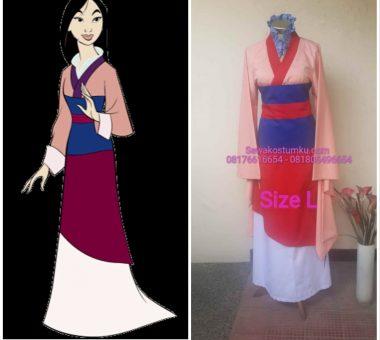 Sewa Kostum Mulan Ukuran L