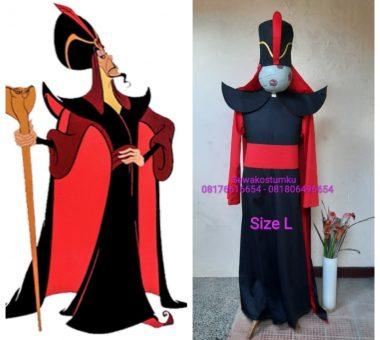 Sewa Kostum Disney Jafar from Aladin Ukuran L