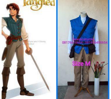 Sewa Kostum Disney Flynn Tangled Ukuran M