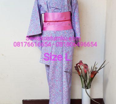 Sewa Kostum Kimono Wanita ukuran L