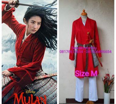 Sewa Kostum Disney Mulan 2020 Ukuran M