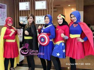 Sewa Kostum Superhero Jakarta Barat