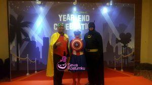 Sewa Kostum Superhero Murah Cibubur