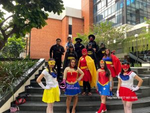 Sewa Kostum Superhero Slipi Jakarta Barat