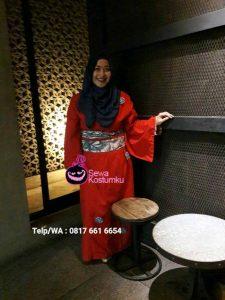 Sewa Kimono Yukata di Cipinang