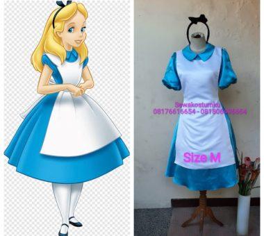 Sewa Kostum Alice in Wonderland size M