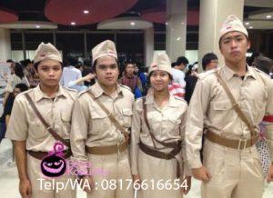 Sewa Kostum Baju Pejuang di Pulogadung